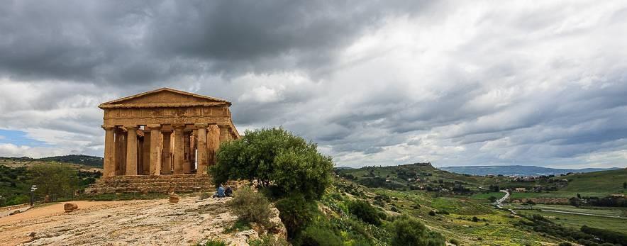 Rundreise durch Sizilien - Griechische Tempel in Agrigento