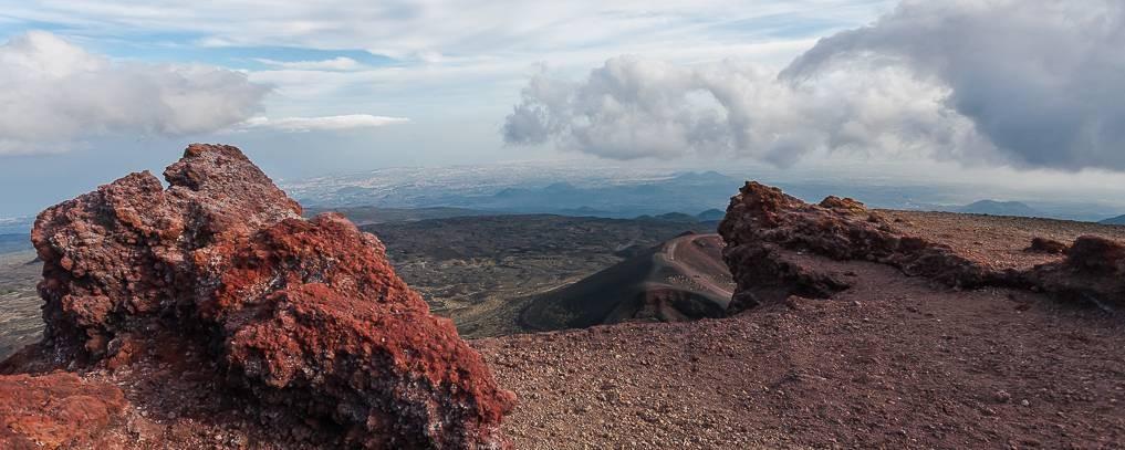 Rundreise durch Sizilien - auf dem Etna